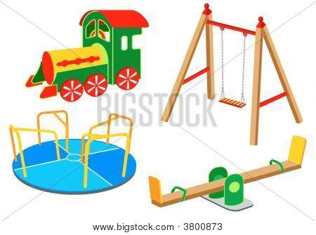 Playground Equipment | Set 1