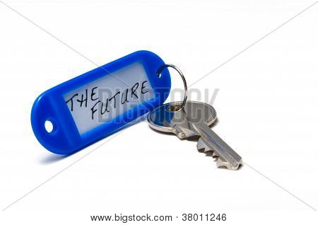 Key With Keyring Labeled The Future