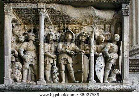 Napoli,bas-relief