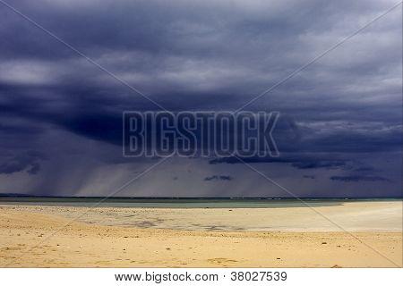 Beach In Nosy Iranja Madagascar