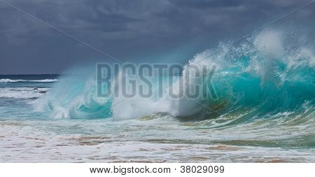 Body Surfing Sandy Beach