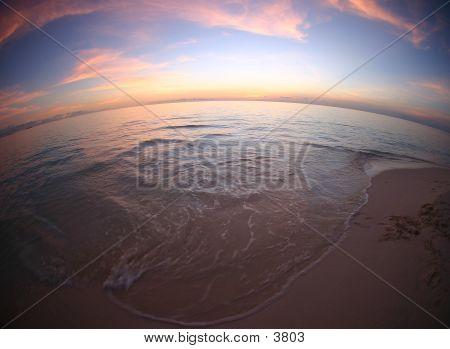 Malediven-Sonnenuntergang