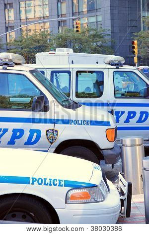 New York Police Department Vehicles