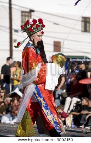 Chinese New Year Parade Cai Shen