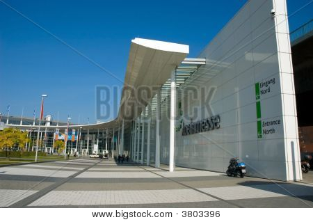 Entrance Photokina Outdoor Building Architecture