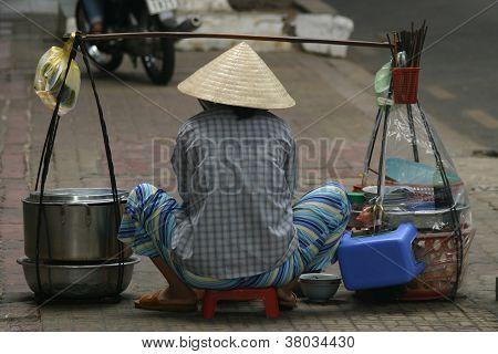 Saigon Street vendor