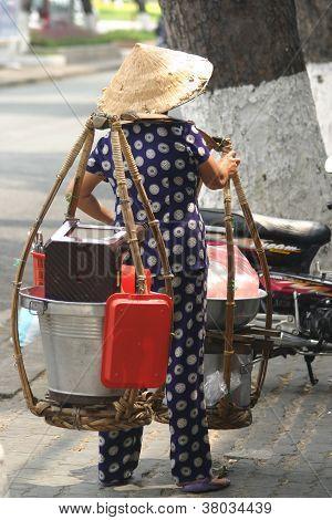 Saigon soup Vendor