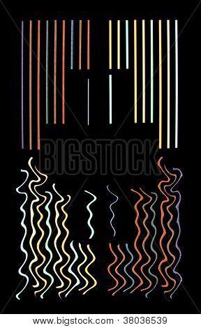 Neon-Hintergrund