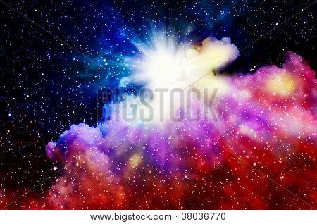 nascimento de uma nova nebulosa