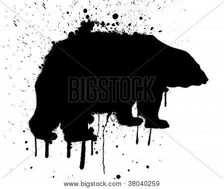 Grunge Bear