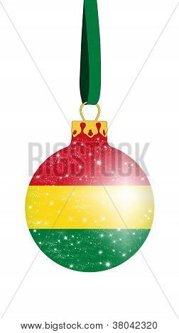 Christmas ball - Bolivia