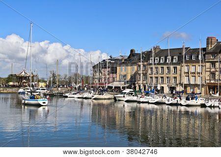 Honfleur, France--Vieux Bassin