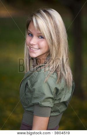 schöne Teenager-Mädchen