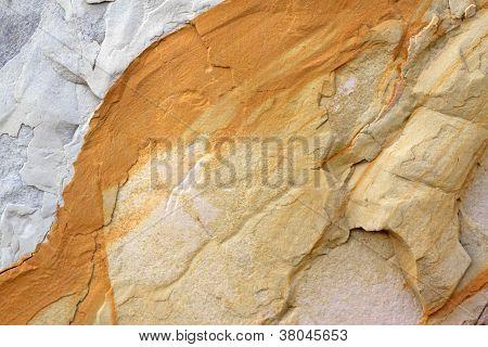 Textura de patrón decorativo de la roca