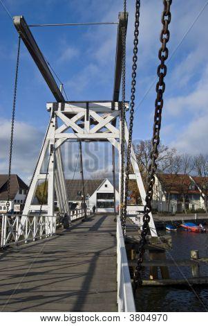 Famous Bridge In Wieck