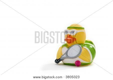 Tennis Rubber Duck