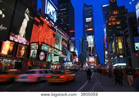 Das Times Square in New York City