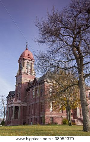 Pipestone Courthouse Corner