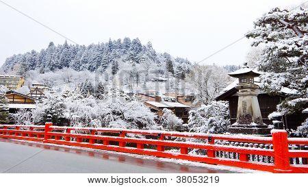 Nakabashi Bridge of Takayama