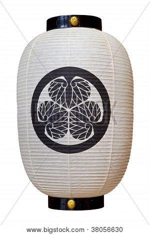Lanterna japonesa em Takayama Jinya