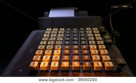 Adding Machine front view