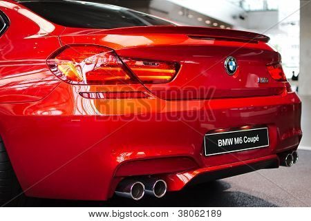 BMW M6 Coupe rear