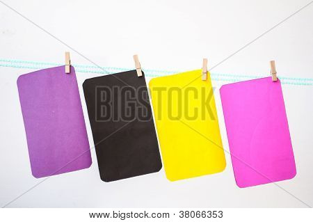 Multicolor Hang Paper