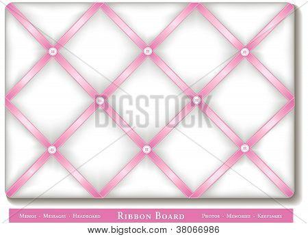 Ribbon Bulletin Board