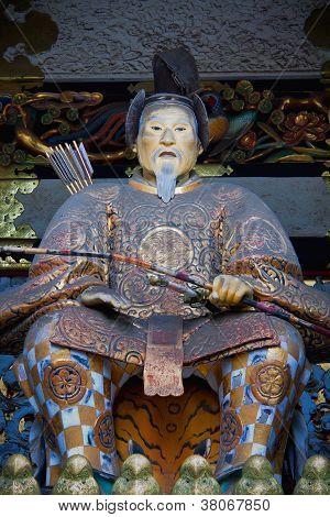 Statue of Shogun Ieyasu at Toshogu Shrine, Nikko