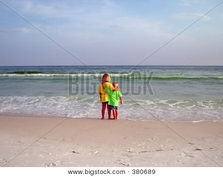 Children On Beach