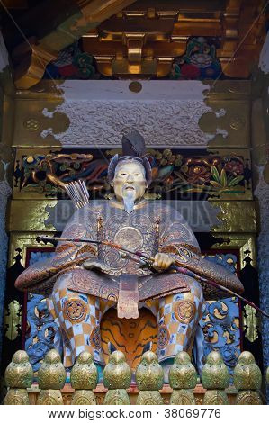 The statue of Tokugawa Ieyasu