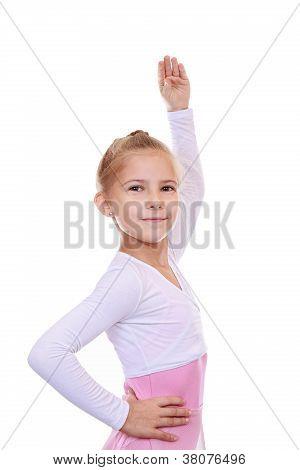 Ejercicio en la coreografía