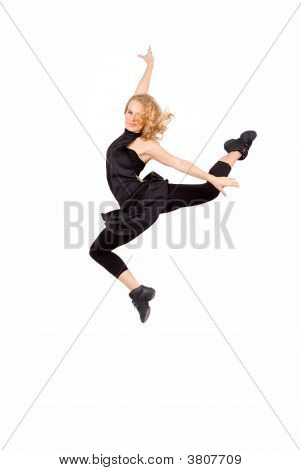 Woman Exercising Or Dancing