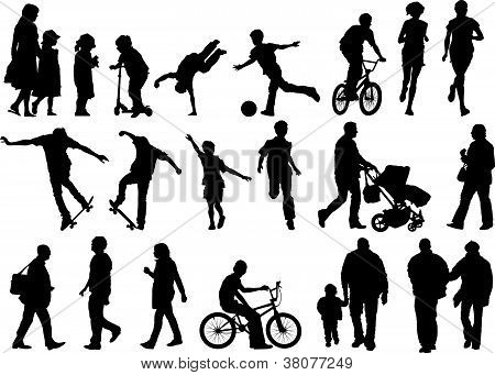 Outdoors And Active People
