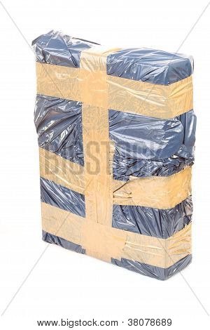 Cardboard Box With Tape, Secure Package