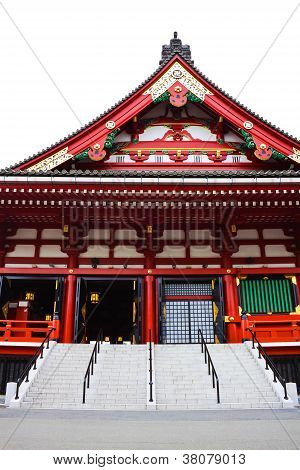 Pediment on the Side Of Sensoji Asakusa Temple
