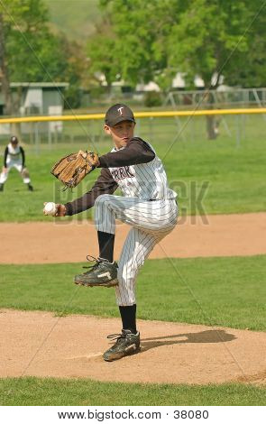 Baseball Pitcher #2