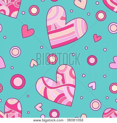 Romantic heart texture