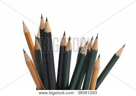 Different pencils
