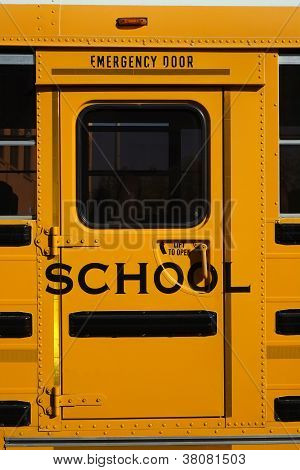 School Bus Detail