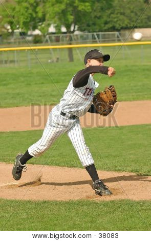 Baseball Pitcher #5