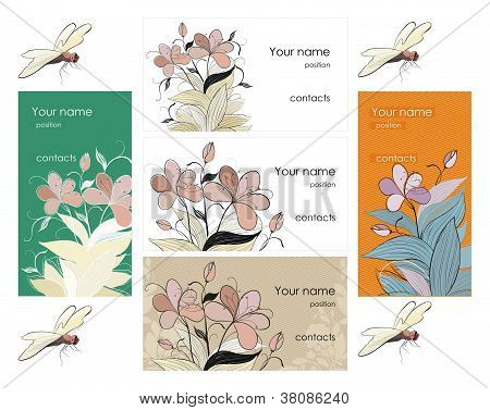 Card design set