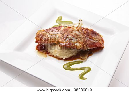 Bass Fillet with Potatoes