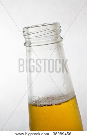 Beer Bottle Close Up