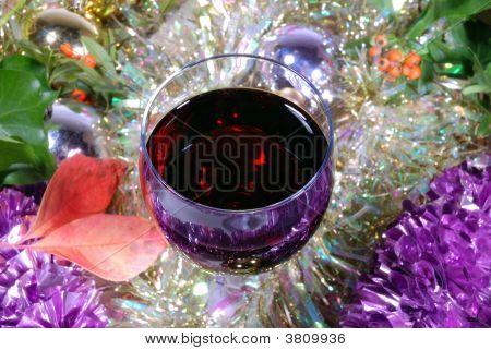 Red Wine On Xmas