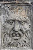 Face - Medieval Plastic Art poster