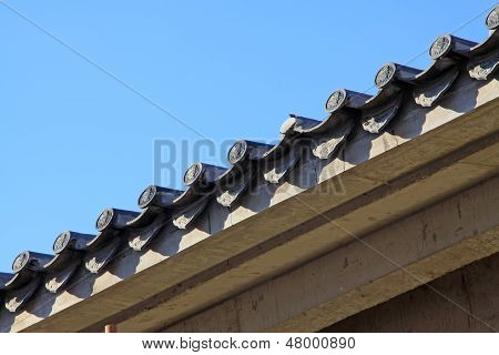 Chinese Ancient Building Eaves