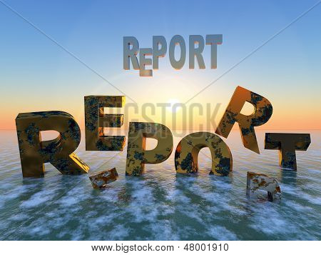 Expiry date of reports