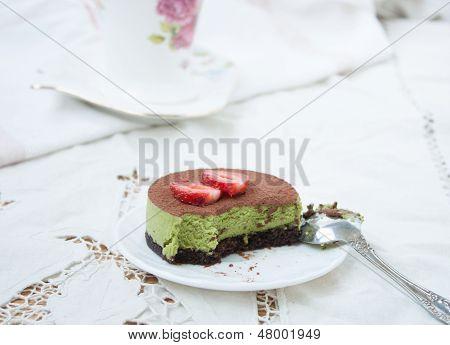 Delicious Dessert - Cake Tiramissu.