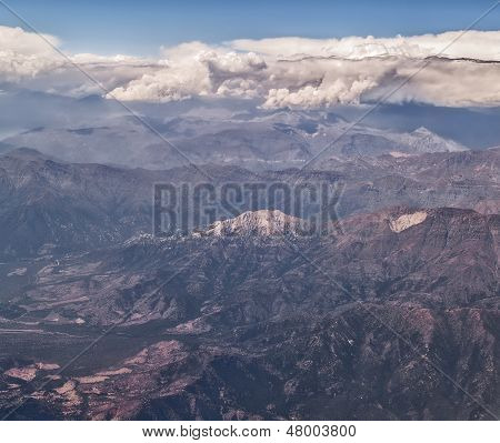 Andes Aerial View